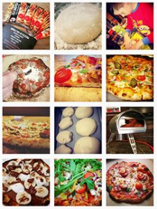 Fully loaded pizza