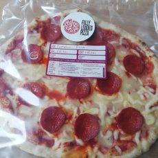 pepperoni part baked pizza